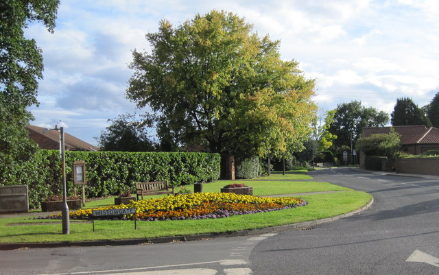 Floral display in Cawood