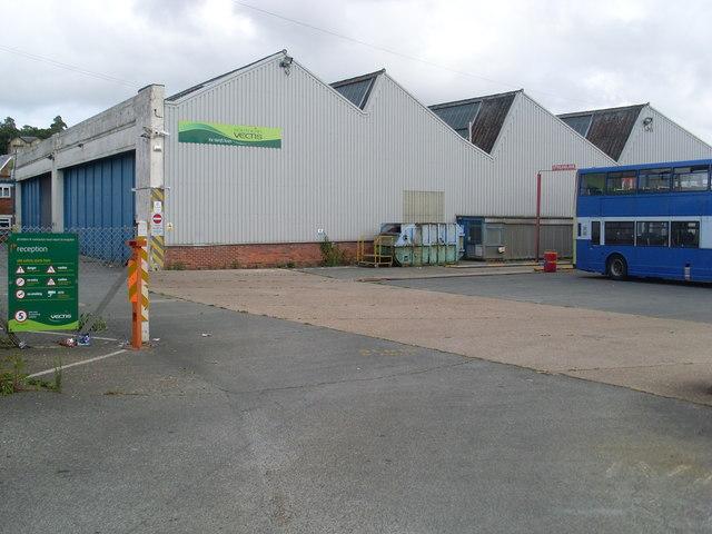 Southern Vectis Bus Depot, Ryde (1)