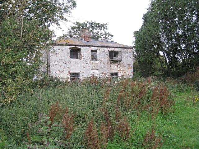Derelict cottage at Lake Farm