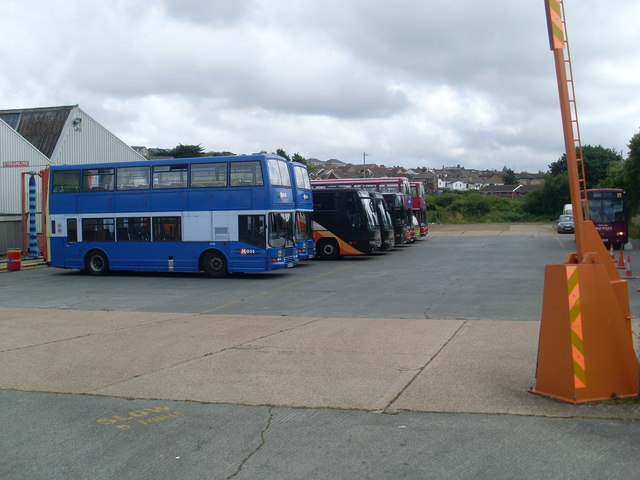 Southern Vectis Bus Depot, Ryde (2)