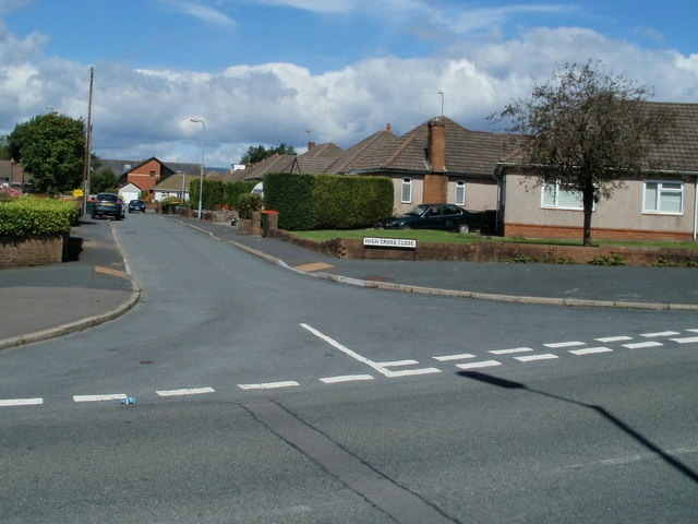 High Cross Close, Newport