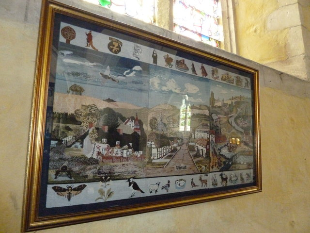 St. Mary the Less, Chilbolton: parish tapestry
