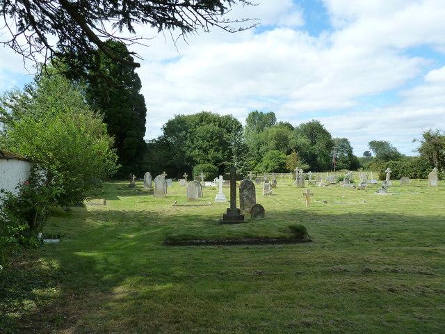 St. Mary the Less, Chilbolton: churchyard (IV)