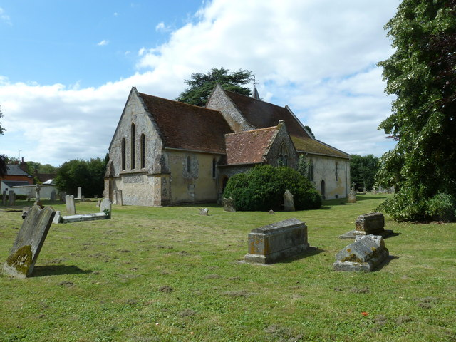 St. Mary the Less, Chilbolton: north-eastern aspect