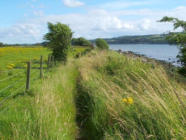 Footpath from Ardoch to Levengrove