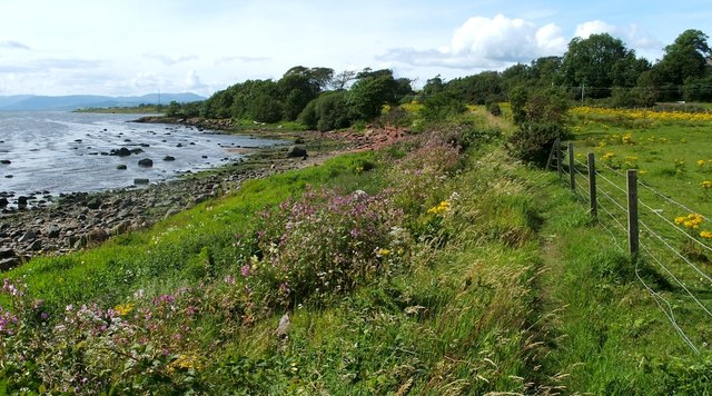 Footpath from Levengrove to Ardoch