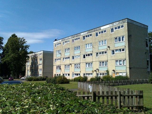 Blocks of flats, Macarthur Crescent