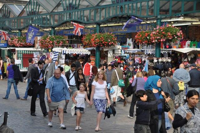 London : Westminster - Covent Garden & Jubilee Market