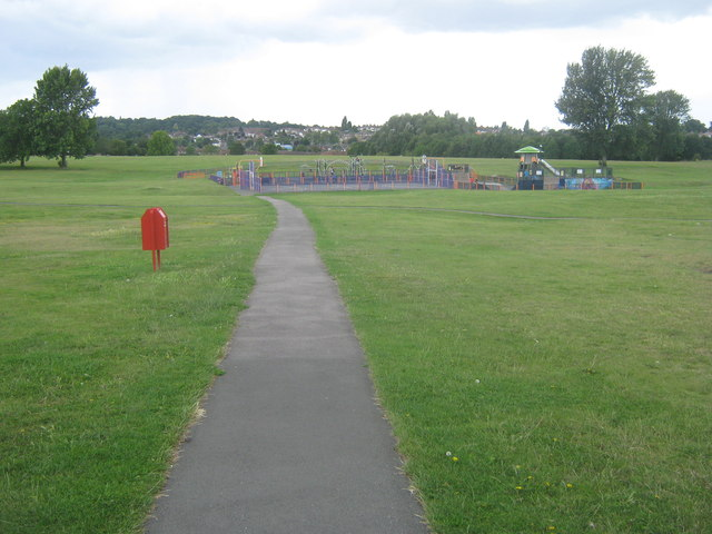 Entrance to East Wickham Open Space