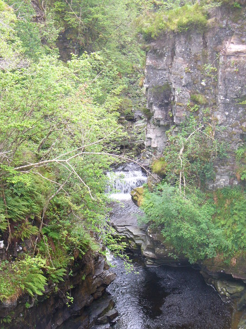 River Droma at Corrieshalloch Gorge