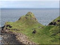 C9444 : The Great Stookan Headland between Portnaboe and Port Granny by Eric Jones