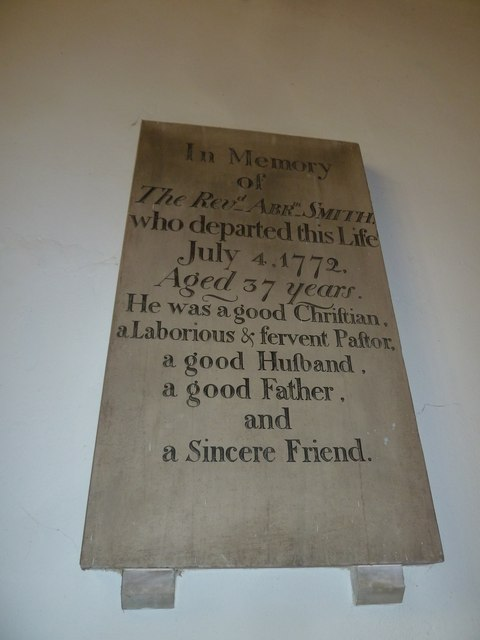 St Mary's, Micheldever: memorial (2)