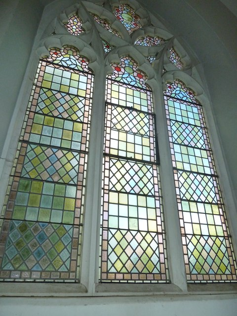 St Mary's, Micheldever: church window (A)