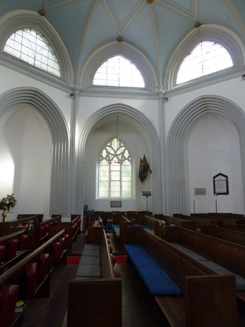 St Mary's, Micheldever: nave