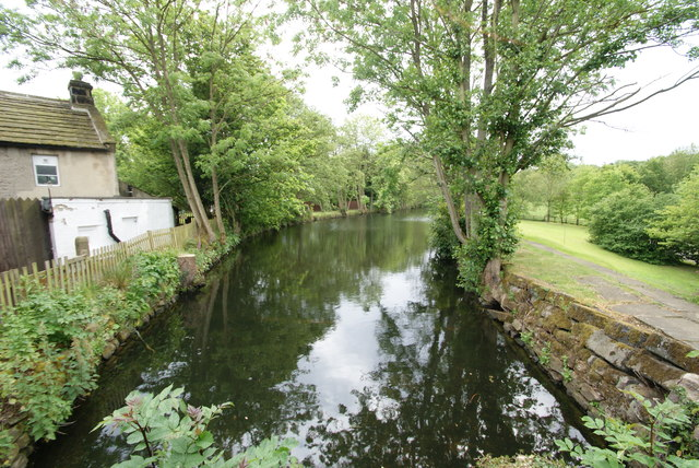 Darley Mill Centre - the mill leat