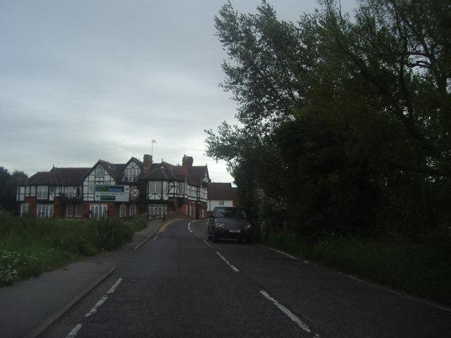 Abridge Road overlooking Roding Hall
