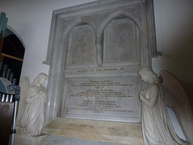 St Mary's, Micheldever: memorial (5)