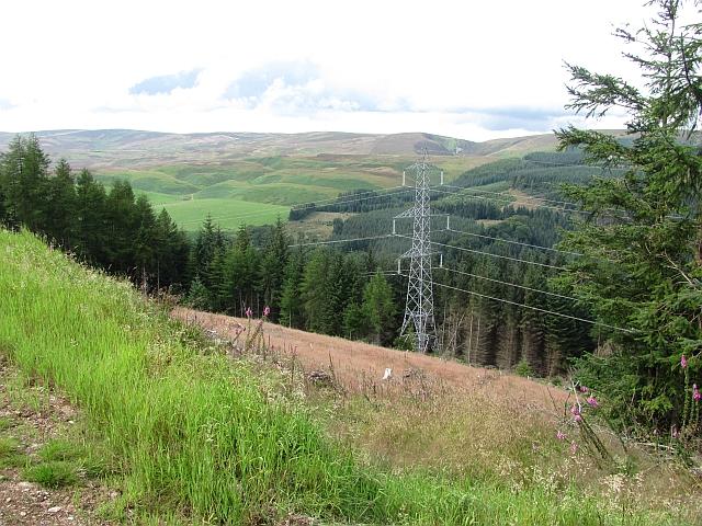 Powerlines, Strath Finella