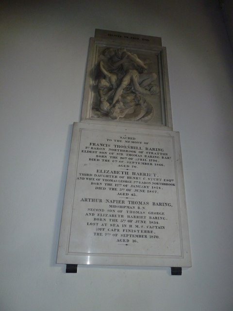 St. Mary, Micheldever: memorial (6)