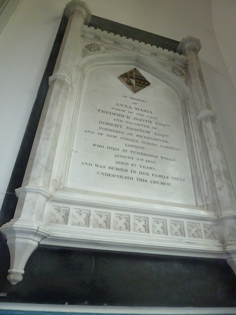 St. Mary, Micheldever: memorial (10)