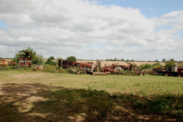 Disused and Scrap Farm Machinery