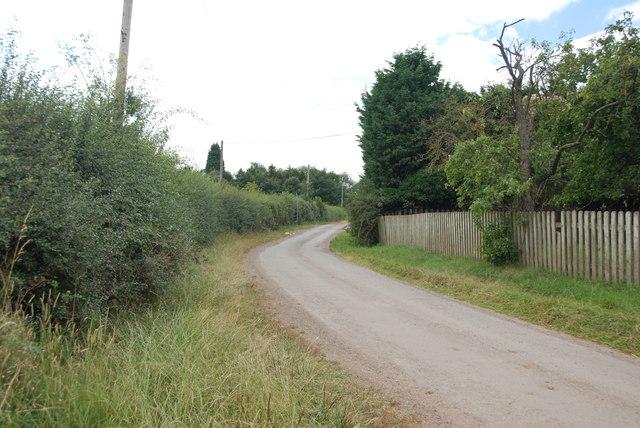 From Gilleon's Hall towards Rookery Farm