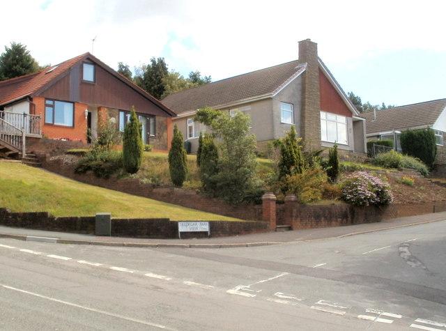 Tredegar Park View houses, Newport