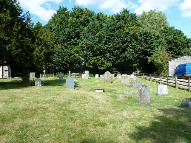 Saint Mary, Tufton: churchyard