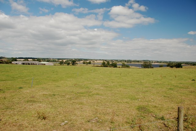 View to St Stephen's Hill Farm and Blithfield Reservoir