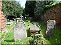 TQ1873 : St Peter's Churchyard, Petersham by Marathon