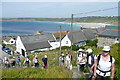SW3426 : View back over Sennen Cove by Graham Horn