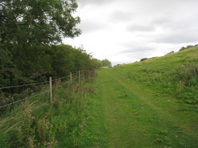 The bridleway to Hatcliffe