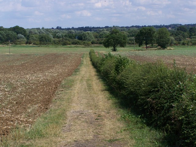 Footpath Near Little Addington