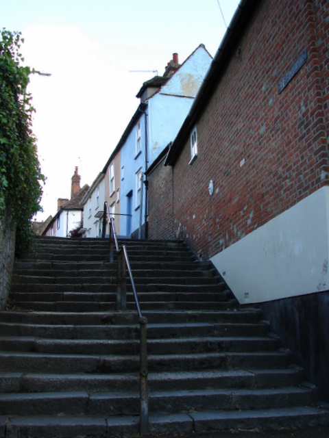 Steps at Basbow Lane