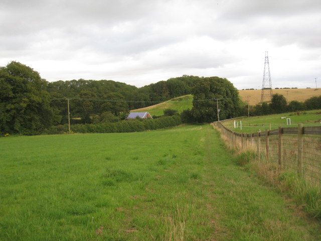 View towards the Hatcliffe to Binbrook road