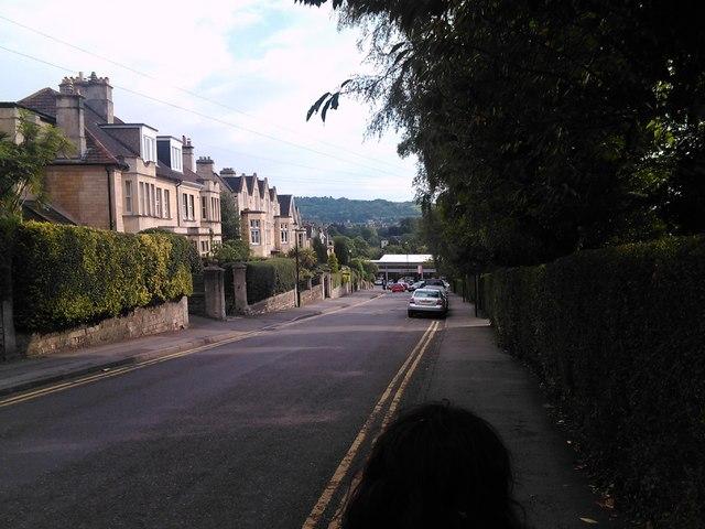 Panorama from Marlborough Lane