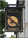 SO9262 : Eagle & Sun (2) - sign, Hanbury Road, Hanbury Wharf by P L Chadwick