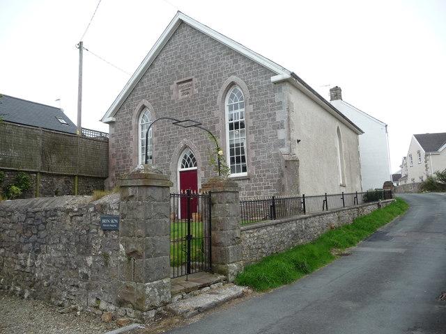 Bryn Sion chapel in St Brides Major