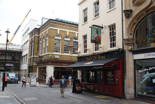 The Duke of York, Dering Street