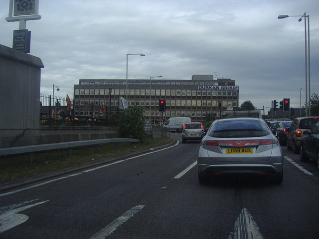 Durkan Group offices and roundabout