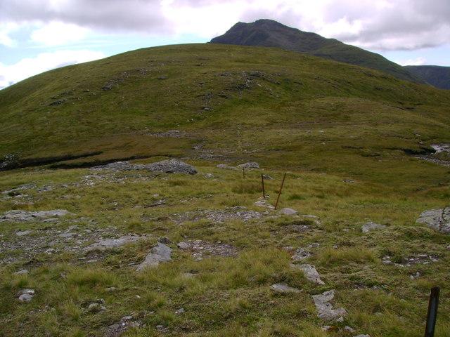 Col below Beinn Chuirn