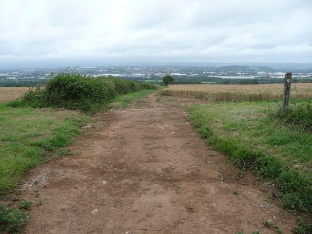 Valeway Millennium Heritage Trail above Bridgend