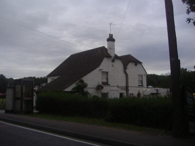 Rear of The Volunteer pub, Waltham Abbey