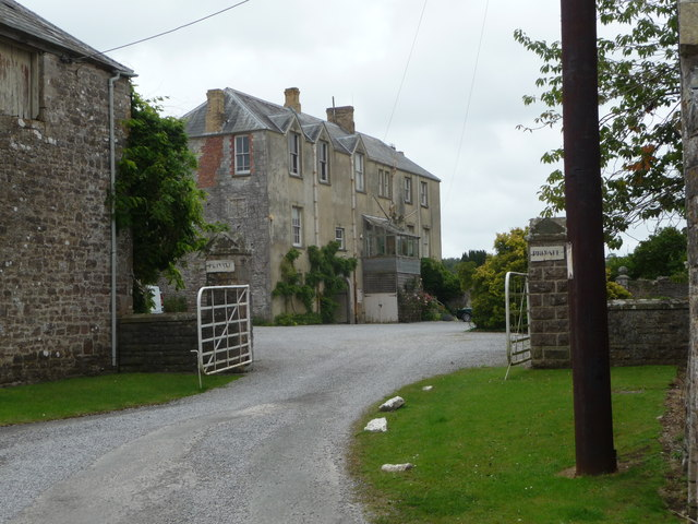 House at Ewenny Priory