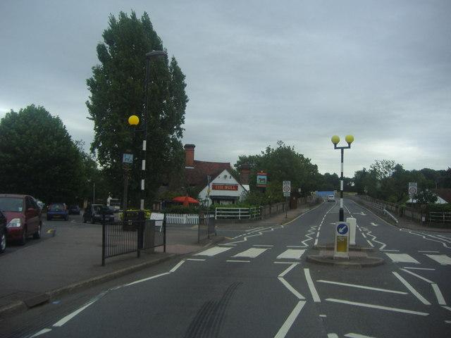 Zebra crossing on Coppice Row