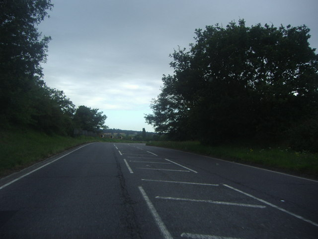Abridge Road heading for Abridge