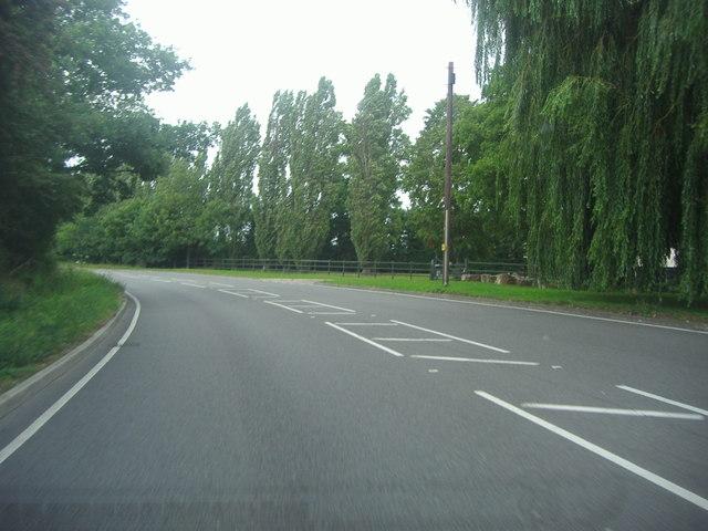 Abridge Road north of Abridge
