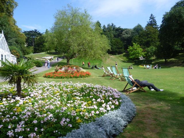 Terrace Gardens, Richmond in summer