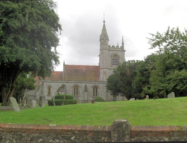 St Leonard's Church, Oakley