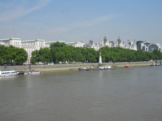 The Embankment / Whitehall Stairs